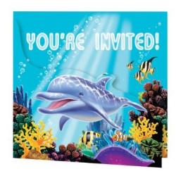 Inbjudningskort Havets Vänner