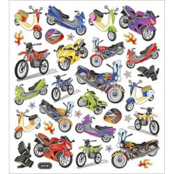 Klistermärken Motorcyklar