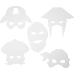 Piratmasker Måla Själv 16 st