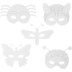 Insektsmasker Måla Själv 16 st