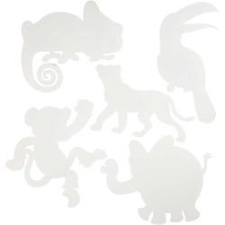 Djungeldjur Figurer 16 st