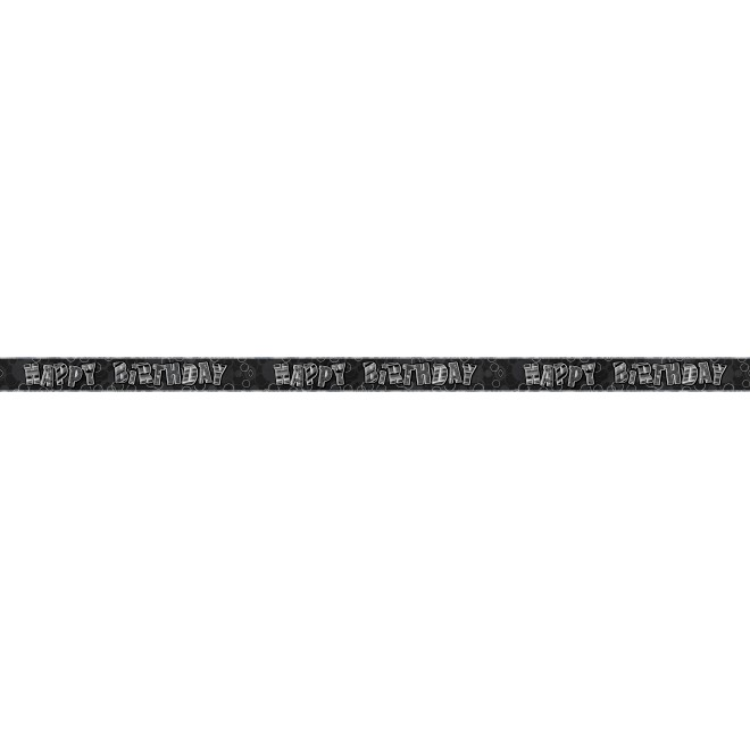Black Glitz HB Banner