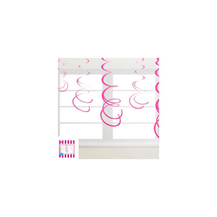 Girlang Swirl Hot Pink