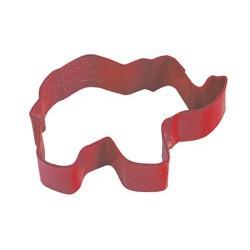 Kakform Röd Elefant