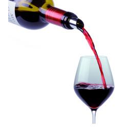 Dropstop för vinflaskan
