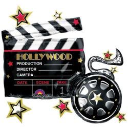 Folieballong Hollywood