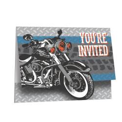 Motorcykel Inbjudan