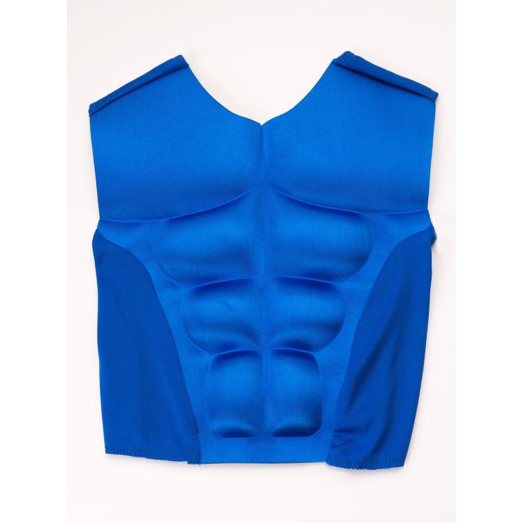 Superhero Muskelväst Blå