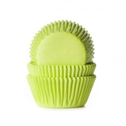 Muffinsformar Limegrön