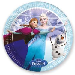 Elsa på Skridskor Tallrikar