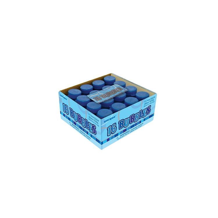 Såpbubblor Mini 16-pack Blå