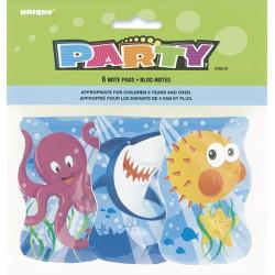 Havets Vänner Anteckningsblock 6-pack