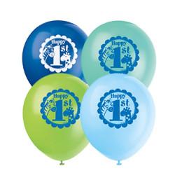 1 år Safari Ballonger
