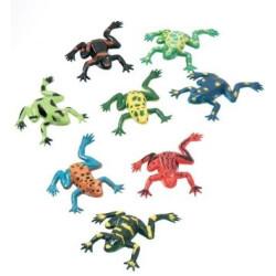 Grodor plastdjur 10 pack