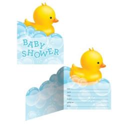 Baby Badanka Inbjudningskort