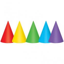 Partyhattar Färgglada