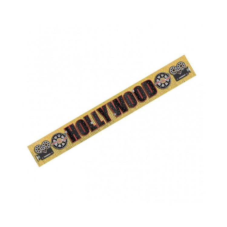 Hollywood Glitter Banner