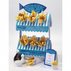 Ställning för Fish & Chip