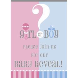 Babyshower Inbjudningskort