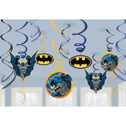 Batman Swirl Dekorationer