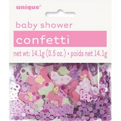 Konfetti Baby Shower Rosa