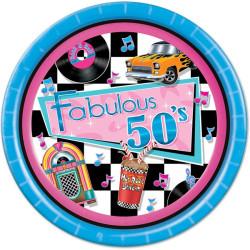 Fabulous 50´s Tallrikar