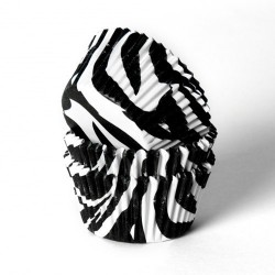 Muffinsformar Zebra