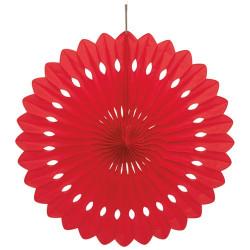 Dekorationsmåne Röd