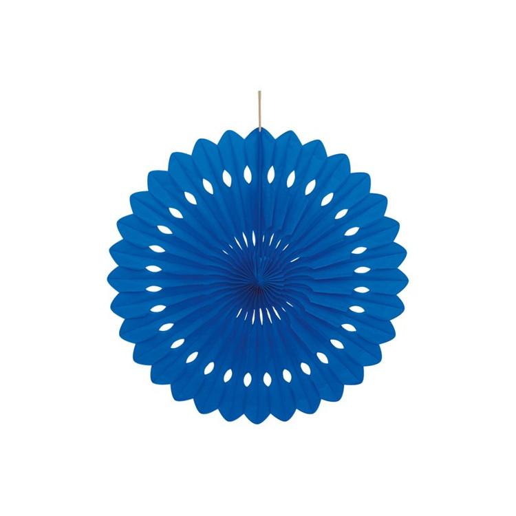 Dekorationsmåne Blå