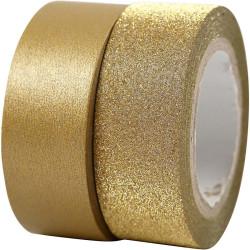 Washitejp Guld 2 pack