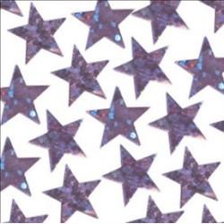 Konfetti Rosa stjärnor glitter
