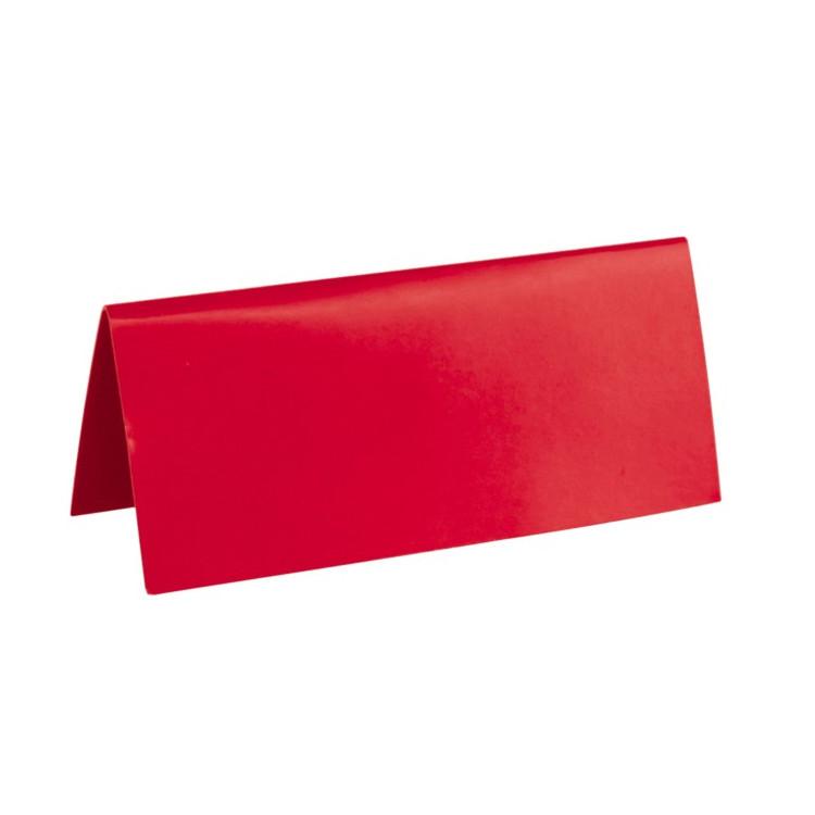 Placeringskort Röd
