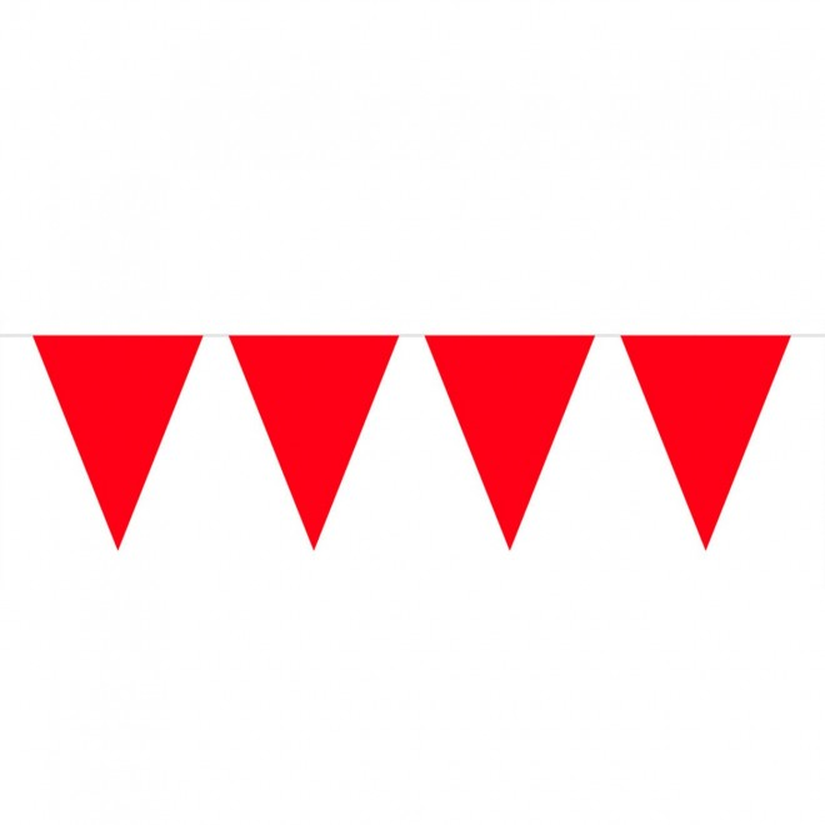 Flaggspel mini Röd