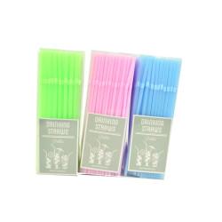 Sugrör Pastell 200-pack
