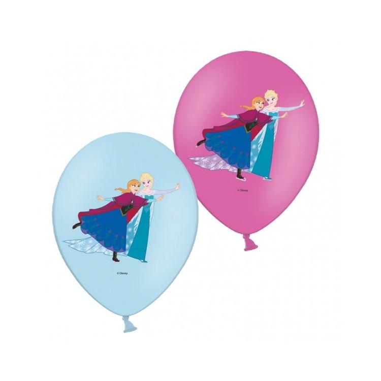Ballonger Frost med färgmotiv