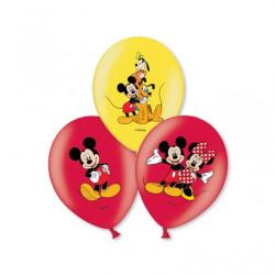Musse Pigg Ballonger med färgmotiv