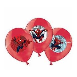 Ballonger Spindelmannen med färgmotiv