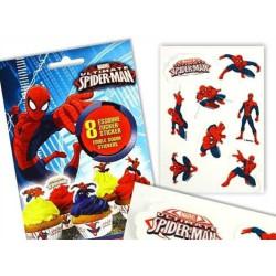 Sockerstickers Spindelmannen