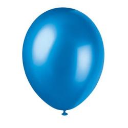 50 pack Blå metallic Ballonger