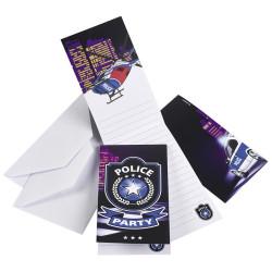 Polis Inbjudningkort