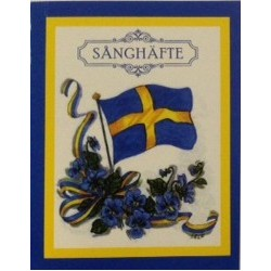 Sånghäfte Svenska Flaggan 4-pack