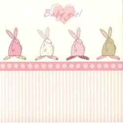 Baby girl kort