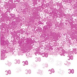Konfetti 30 Rosa