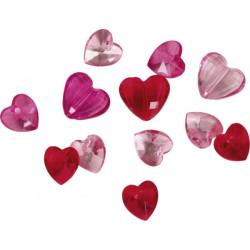 Dekorationsstenar Hjärtan