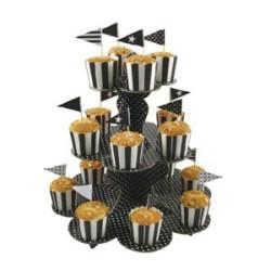 Muffinsställning Vit
