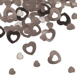 Konfetti Hearts Silver