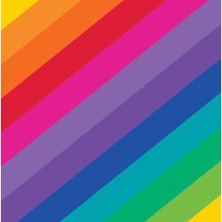 Kaffeservetter Rainbow