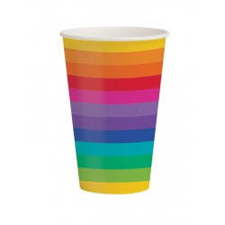 Pappersmugg Rainbow
