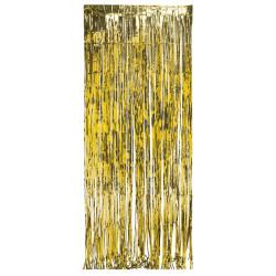 Glitterdraperi Guld
