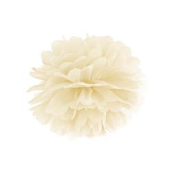 Pom Pom Dekoration Ivory